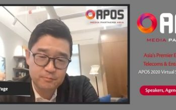 KakaoPage announces at APOS 2020 that Korea's No. 1 story entertainment company intends to establish a global network across the U.S., China, and Southeast Asia by 2022