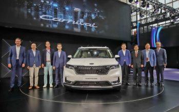 Kia Motors reveals new K5 and Carnival at Auto China 2020