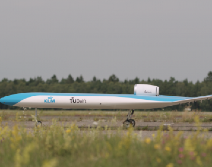 KLM and TU Delft present successful first flight Flying-V