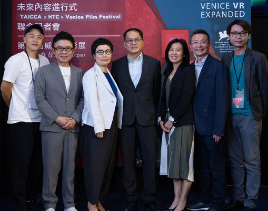 Launching Venice VR Expanded of Venice Film Festival in Taipei through Collaboration of HTC VIVE ORIGINALS and Taiwan Creative Content Agency