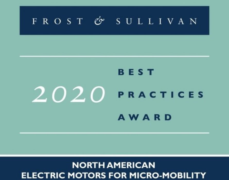 Linear Labs Commended by Frost & Sullivan for its Groundbreaking Motor Technology, the Hunstable Electric Turbine