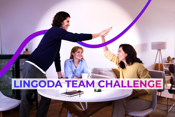 Lingoda, the number one trusted online language school, announces today the launch of the #LingodaTeamChallenge, a global contest bringing together people from all over the world, united in the mission to learn a new language.