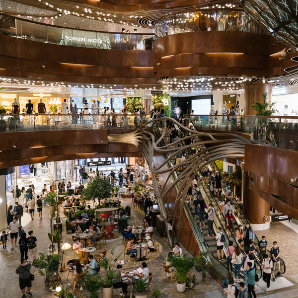 K11 MUSEA in Hong Kong sees revenge consumption as the city gradually recovers from a third wave of COVID-19