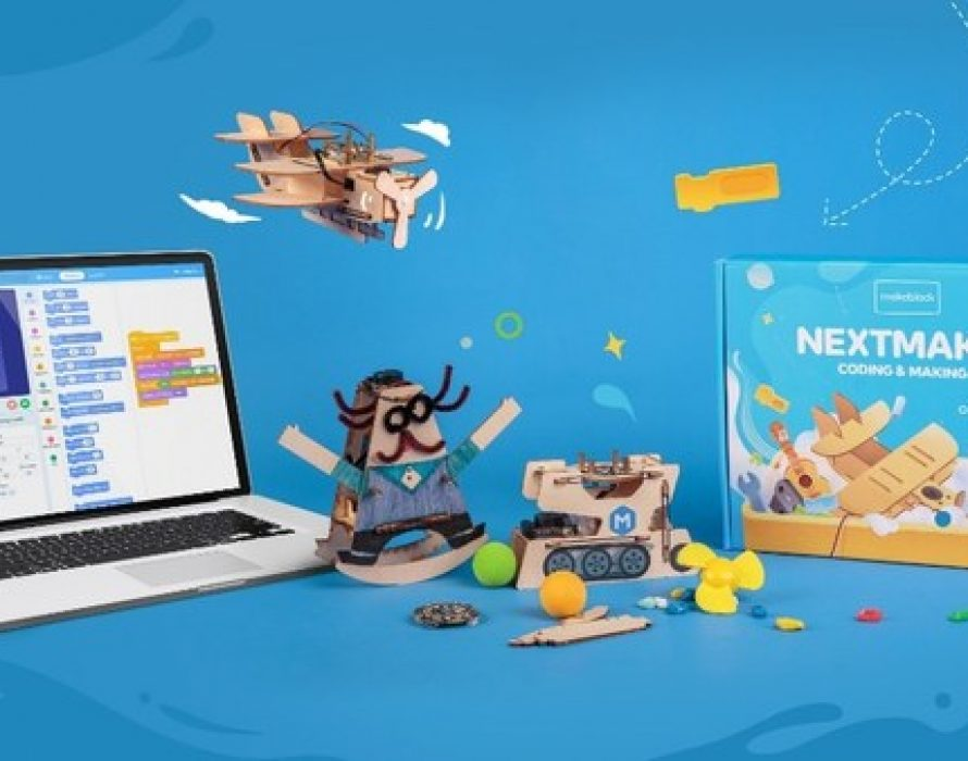 Makeblock launches NextMaker Box – a kit for at-home kids to learn coding and STEM – on Kickstarter