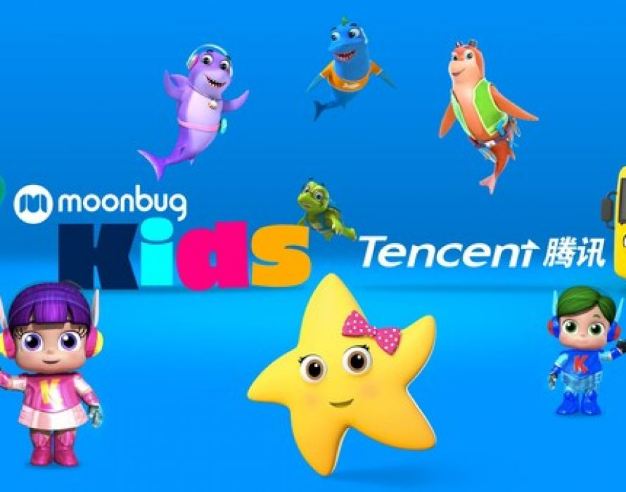 Moonbug Partners With Tencent Video To Expand Its Reach Across China