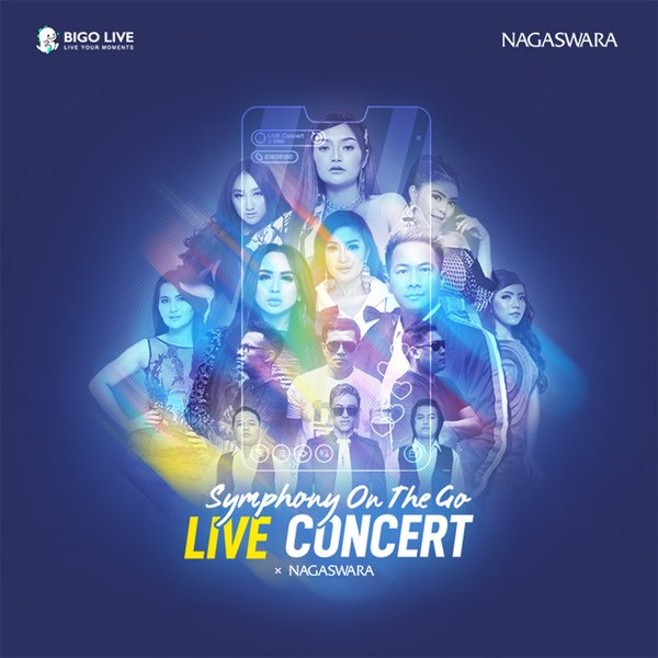 Nagaswara hosts online concert 'Symphony on the Go' on Bigo Live