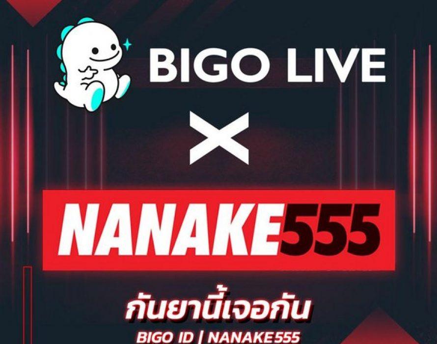 NANAKE555 kicks off first-ever talkshow on Bigo Live