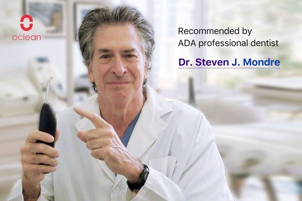Oclean W1 is recognizedby an ADA professional dentist