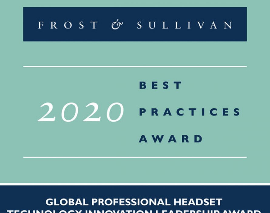 Poly Recognized by Frost & Sullivan as the 2020 Global Technology Innovation Leader for Its Diverse and Continually Evolving Professional Headset Portfolio
