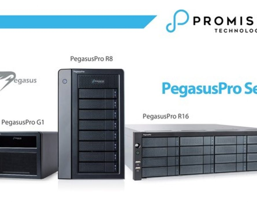 PROMISE Technology Announces PegasusPro Fusion Storage for Post Production Collaboration