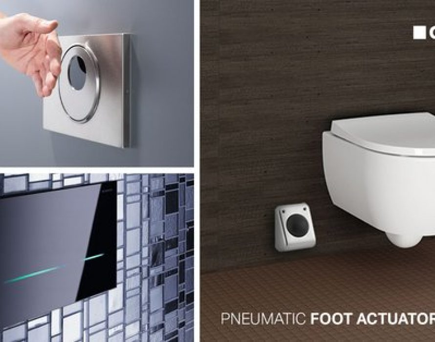 Safer public toilets: A simple upgrade by Geberit makes all the difference