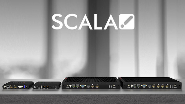 Scala launches entry-level and full-feature media players. The new players complement Scala's full hardware solution on Linux and Windows for digital signage.