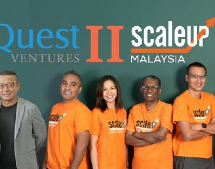 ScaleUp Malaysia Partners Asia's Quest Ventures to Take Local Solutions Global