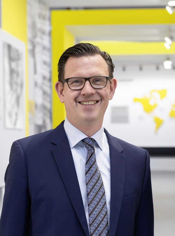 """""""As one of the leading global providers of material handling solutions, we are an ideal partner for companies that pursue economically viable and future oriented sustainable goals,"""" says Steffen Bersch, CEO SSI Schaefer Group."""