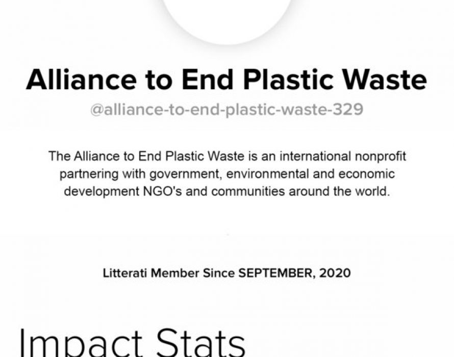 SUEZ Asia joins The Alliance to End Plastic Waste in ALL_TOGETHER GLOBAL CLEANUP effort to rid the world of litter