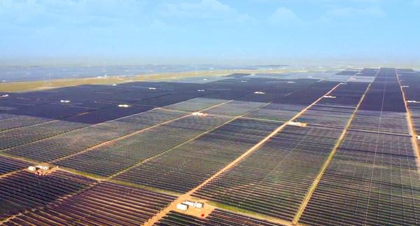 China's largest solar-plus-storage project