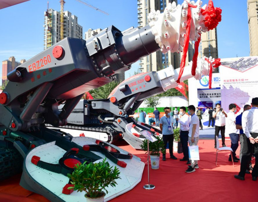 The 15th Yulin International Coal and High-end Energy Chemical Industry Expo held in Yulin, China