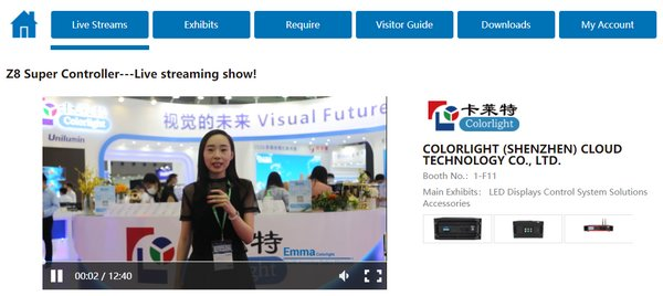 Live hosted by LED CHINA Exhibitors