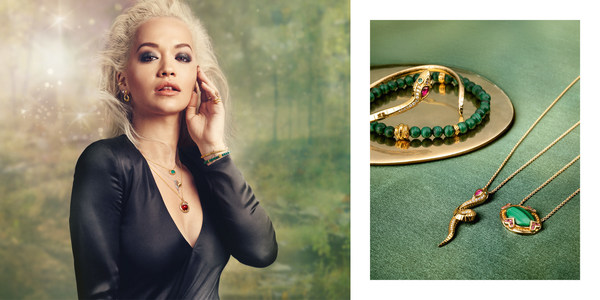 """THOMAS SABO and the global brand ambassador for the Women's Collection, Rita Ora, invite you to discover the new autumn campaign 2020. Once again the focus this season is on the theme of their long-term cooperation, the """"magic of jewellery""""."""