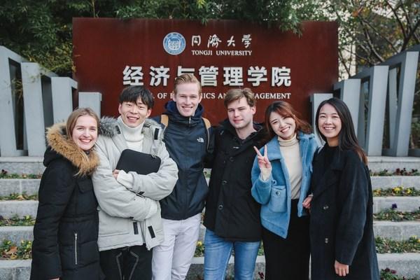 Students of Tongji SEM's Master in Management program