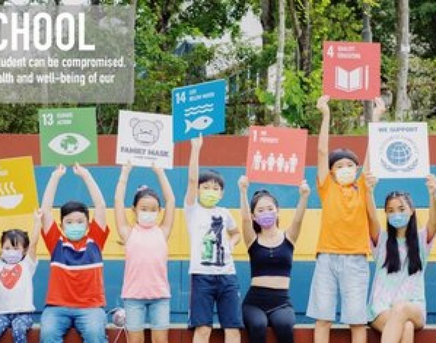 UN75 Dialogue – Family Mask and its #BackToSchool Initiative for Global Goals Week 2020