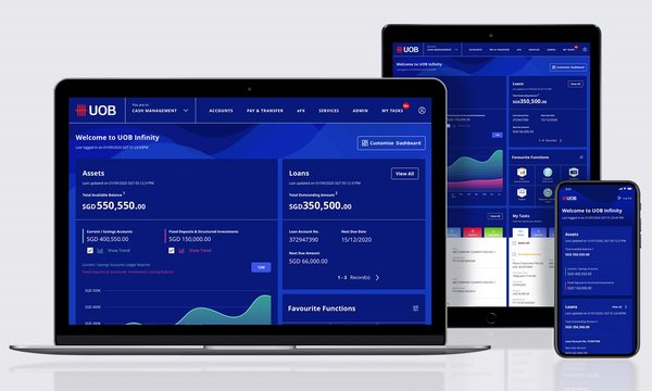 UOB has transformed the digital banking experience for its corporate clients with the launch of UOB Infinity