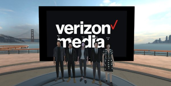 From left to right: Head of RYOT Studio EMEA Mr. Mark Melling, Managing Director of CSL Consumer Mobile Mr. Bruce Lam, Head of International & eCommerce of Verizon Media Ms. Rose Tsou, Co-head of APAC, Verizon Media Mr. Rico Chan and Ms. Erika Wang