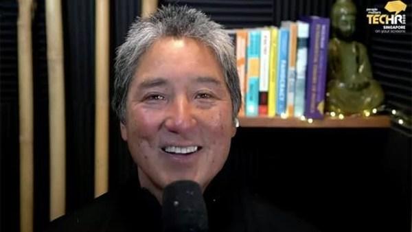 Silicon Valley legend Guy Kawasaki, Chief Evangelist, Canva in his keynote at TechHR 2020