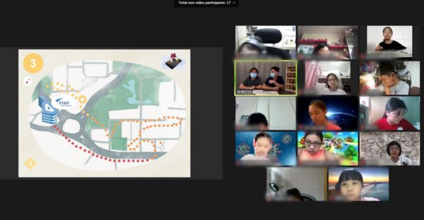 Youth Square conducted 'Creative+ Arts Day Camp 2020' via webinar to allow students from 'The Arts Ambassadors-in-School Scheme' participated workshops at home.