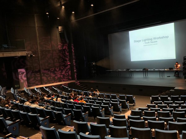 Interns who joined the 6-month performing arts trainee experience participated and acquired practical knowledge of venue management at venues and applied knowledge in real work situation