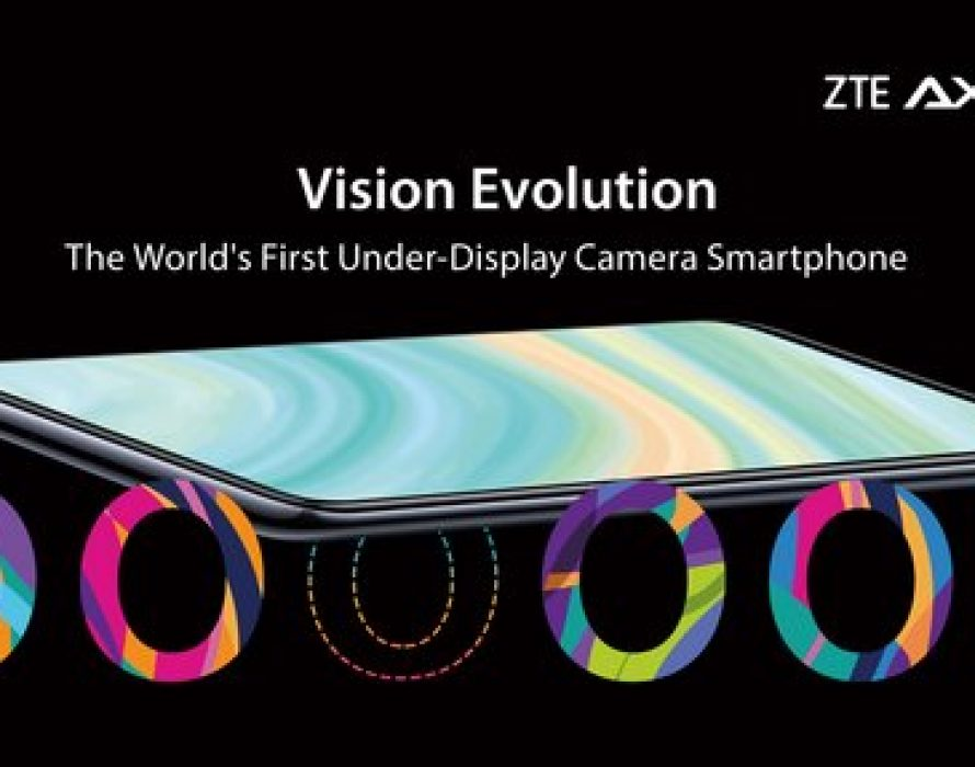 ZTE unveils world's first under-display camera smartphone Axon 20 5G