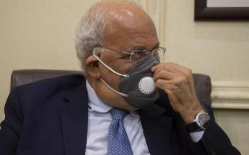 Top Palestinian official Saeb Erekat hospitalised for COVID-19 treatment