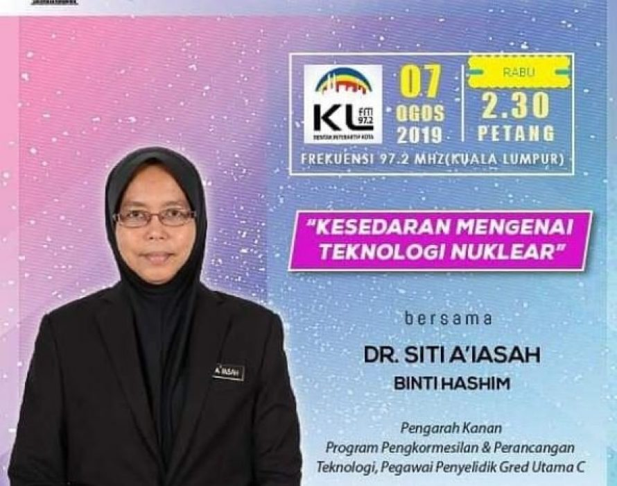 Siti A'iasah appointed as Malaysian Nuclear Agency director-general