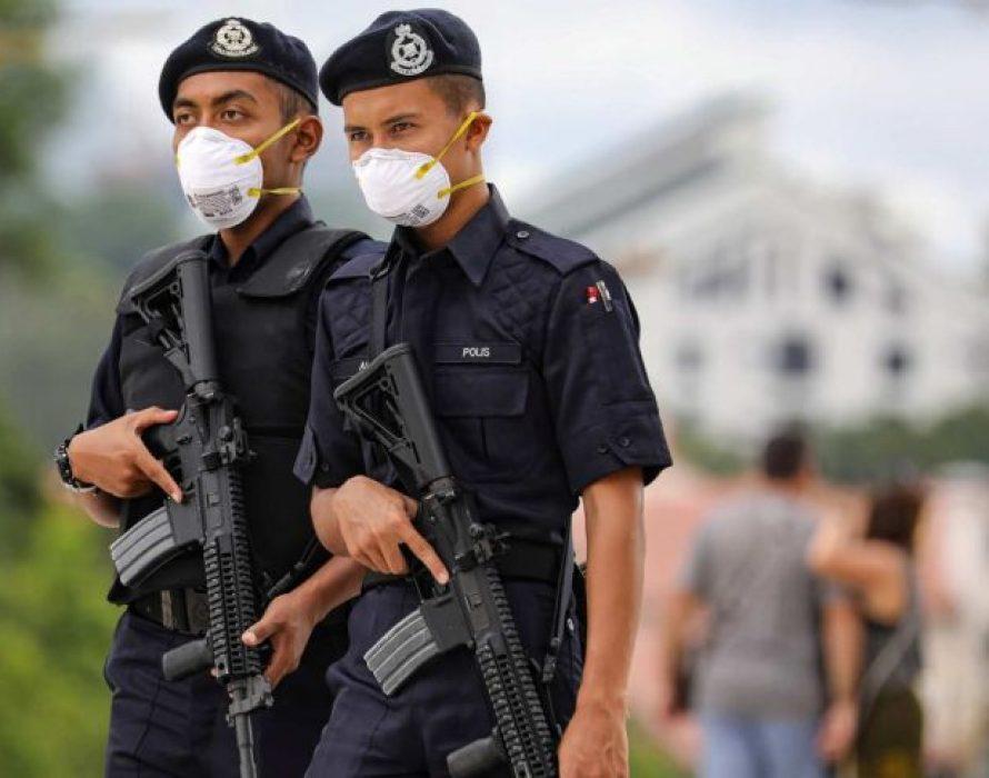 Covid-19: More than 10,000 police personnel in quarantine
