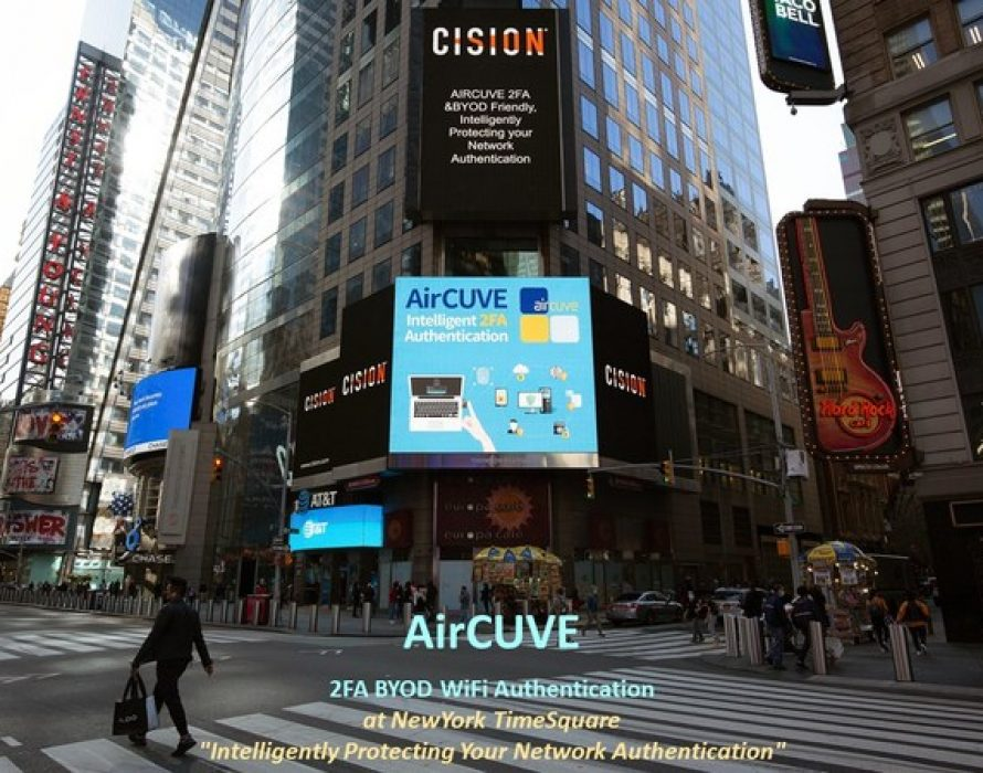 AirCUVE Releases Two-Factor Authentication in Cyber Security and WiFi Security Solution