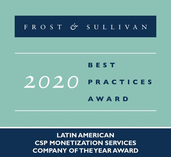 2020 Latin American CSP Monetization Services Company of the Year Award