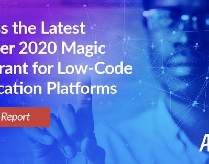 Appian Named a Leader in Gartner's 2020 Magic Quadrant for Enterprise Low-Code Application Platforms