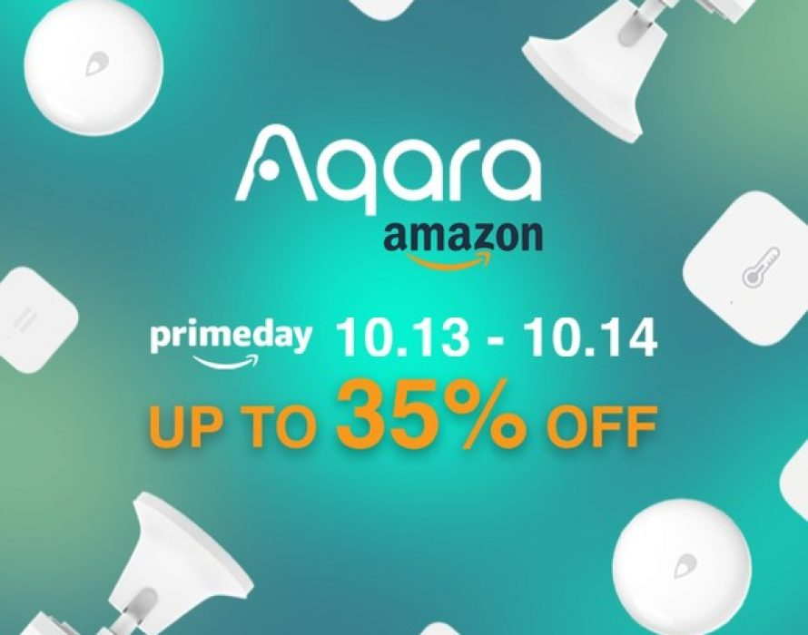 Aqara Offers Deals For Amazon Prime Day 2020
