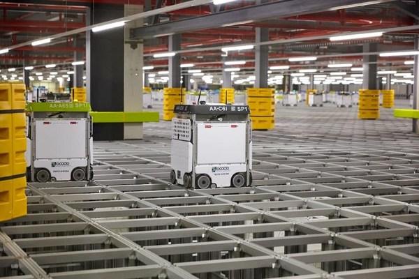 Ocado Automated Storage & Retrieval System