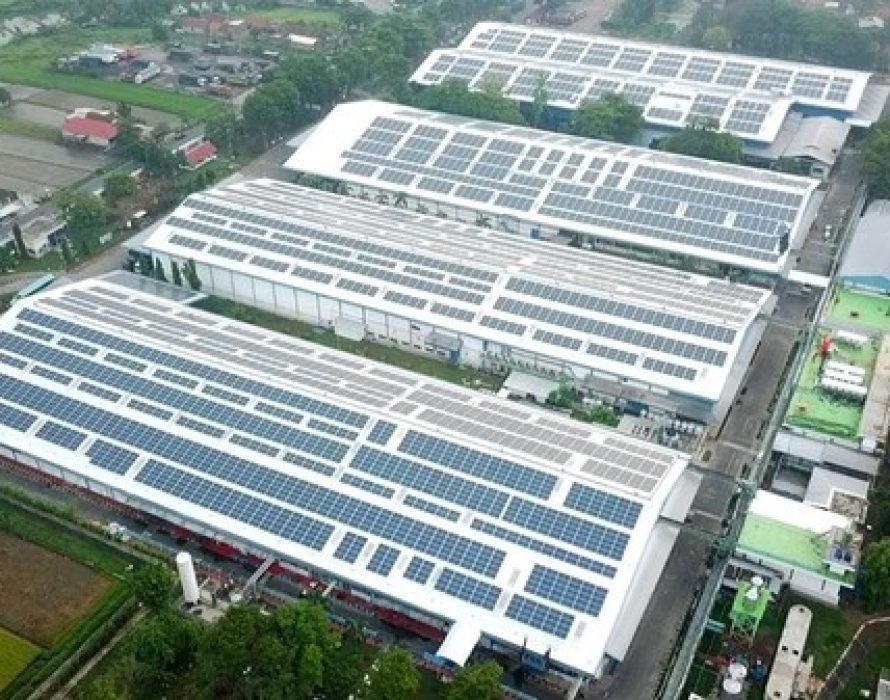 Biggest Solar Rooftop in Central Java, Indonesia: Total Solar DG Supports Danone's Sustainability Commitments in Line With Government's Plan