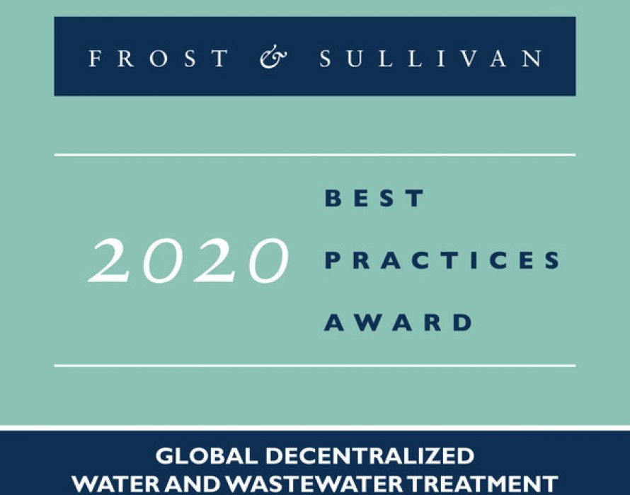 BioMicrobics Acclaimed by Frost & Sullivan for Its Continuous Innovation-led Growth in the Water and Wastewater Treatment Market