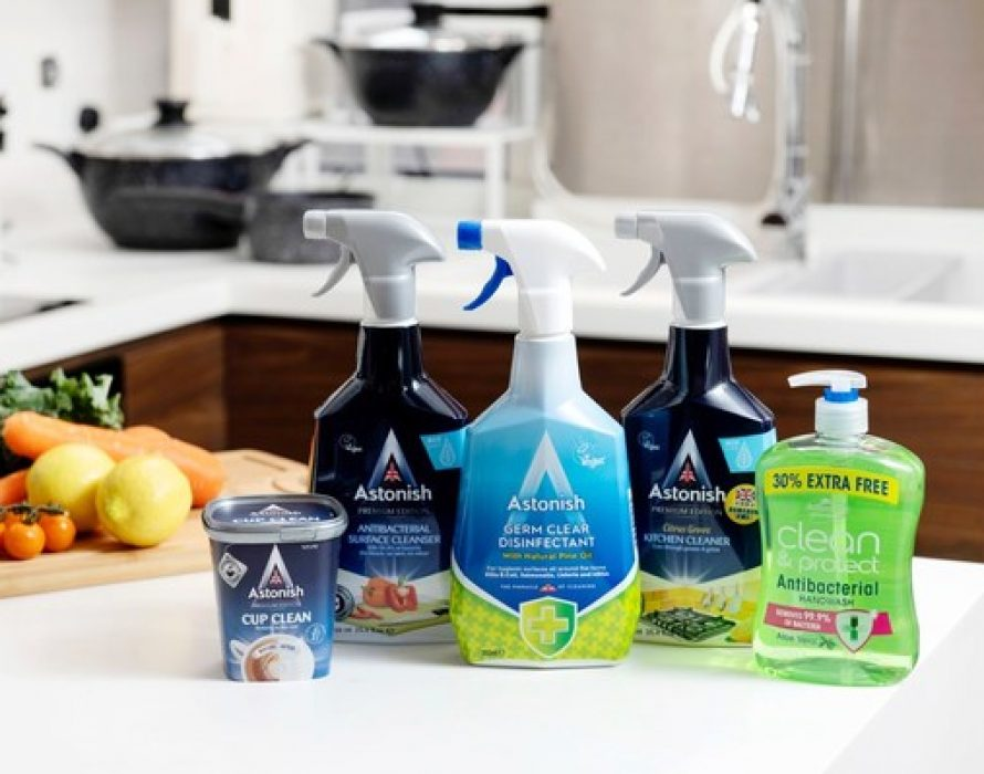 """""""British Cleaning Master"""" Astonish officially debuts"""