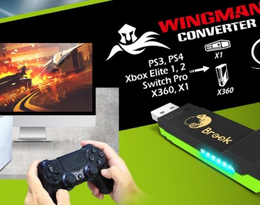 Brook Launches Wingman XB Converter, The Best Solution for Xbox One/ Xbox 360