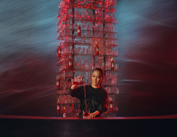 Mixologist Monica Berg features in Campari's digital global campaign showing Red Passion come alive in the path to creation