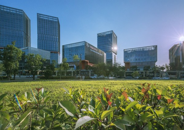 """Chengdu Tianfu New Area is the birthplace of a new urban development concept named """"park city,"""" where people's livelihoods, urban construction, the environment and industrial development are balanced."""