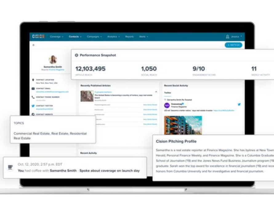 Cision Releases Cision Connect, Empowering Communicators to Perform More Meaningful Media Outreach