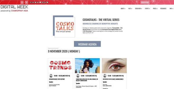 CosmoTalks - The Virtual Series will organise more than 20 expert-led webinars with a specific theme every day.