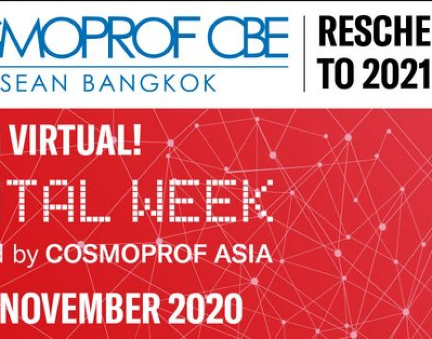Cosmoprof CBE ASEAN Reschedules its First Edition to September 2021