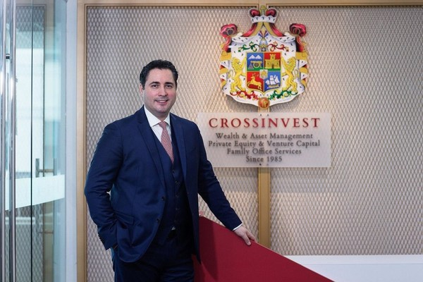 Mr Cem A. Azak, Executive Chairman and majority shareholder, at the Crossinvest (Asia) office.