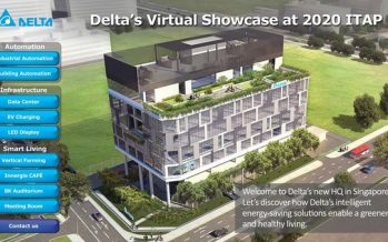 Delta Singapore Showcases Smart and Green Solutions for Factory, Building and Farm Automation at its ITAP 2020 Virtual Event